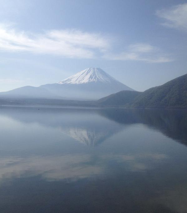 本栖湖 逆さ富士